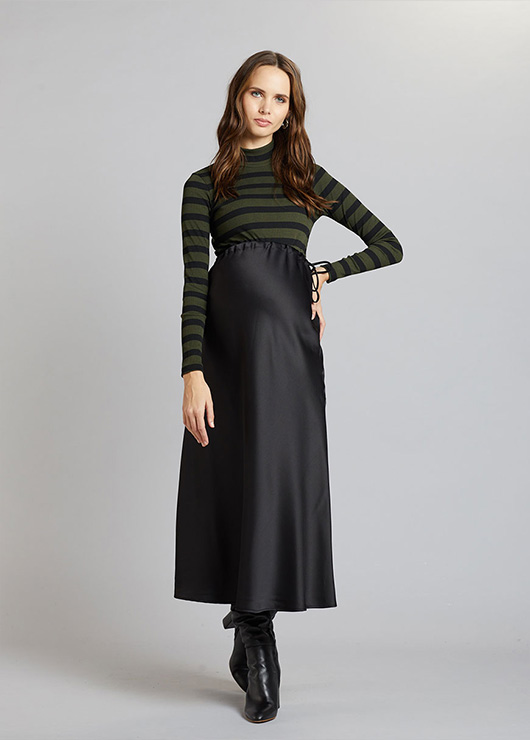 - Maternity Long Skirt Jenna