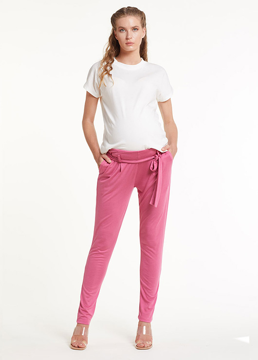 - Maternity Pink Trousers Alexis