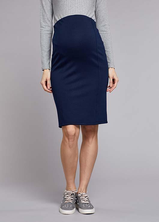 - Navy Skirt Jada