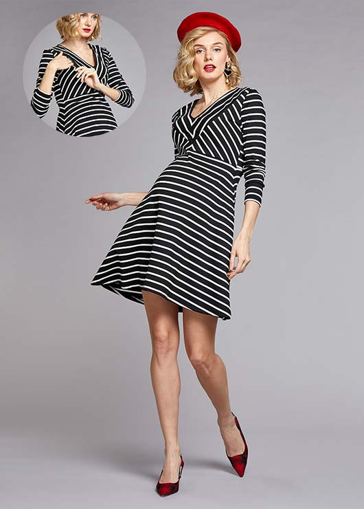 - Nursing Detailed Dress Beyonce