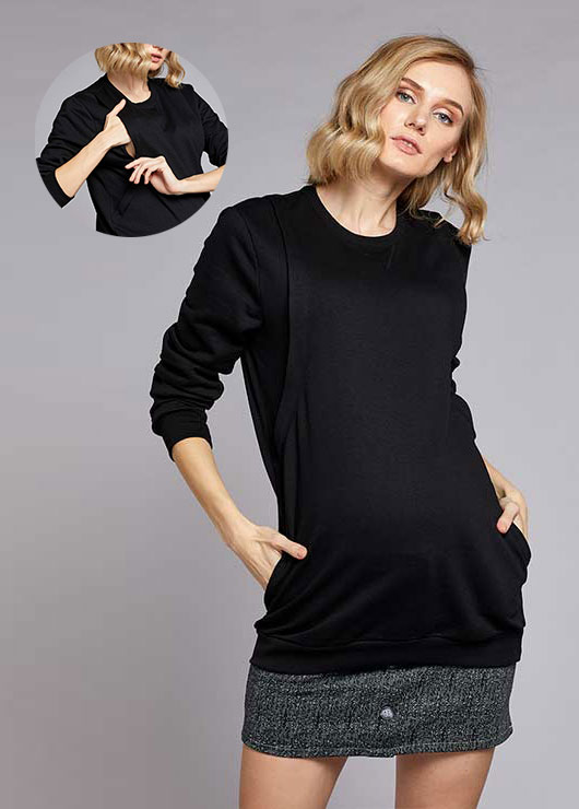 - Nursing Detailed Sweater Dali