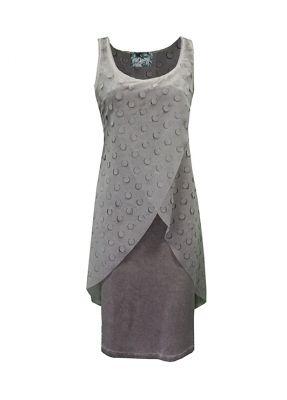 - Lazer Cut Dress Roy