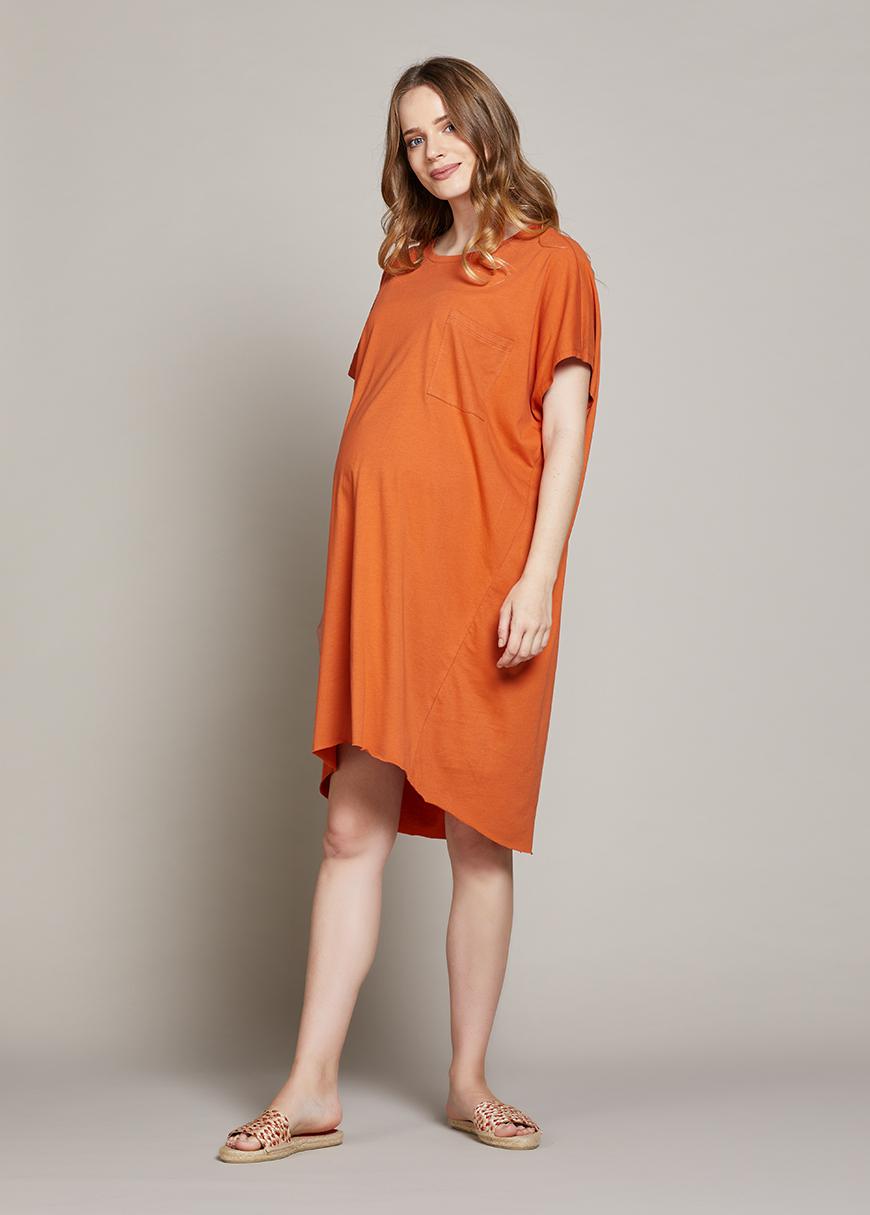 Rahat Hamile Tuniği Orange