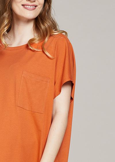 Rahat Hamile Tuniği Orange - Thumbnail