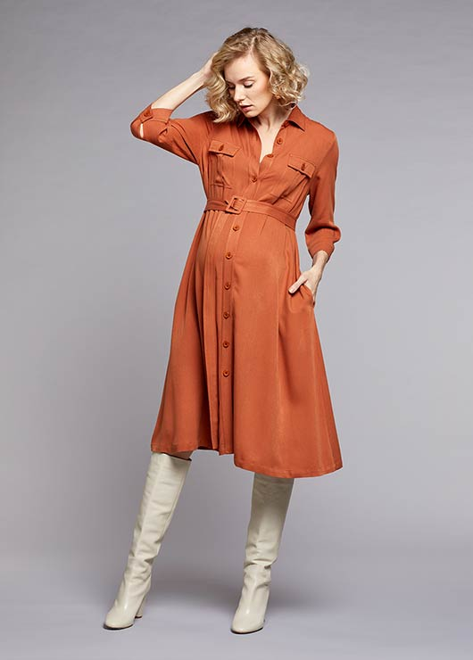 - Shirt Dress Safari