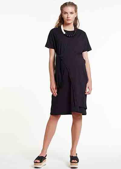 Siyah Hamile Elbisesi Dress Spain - Thumbnail