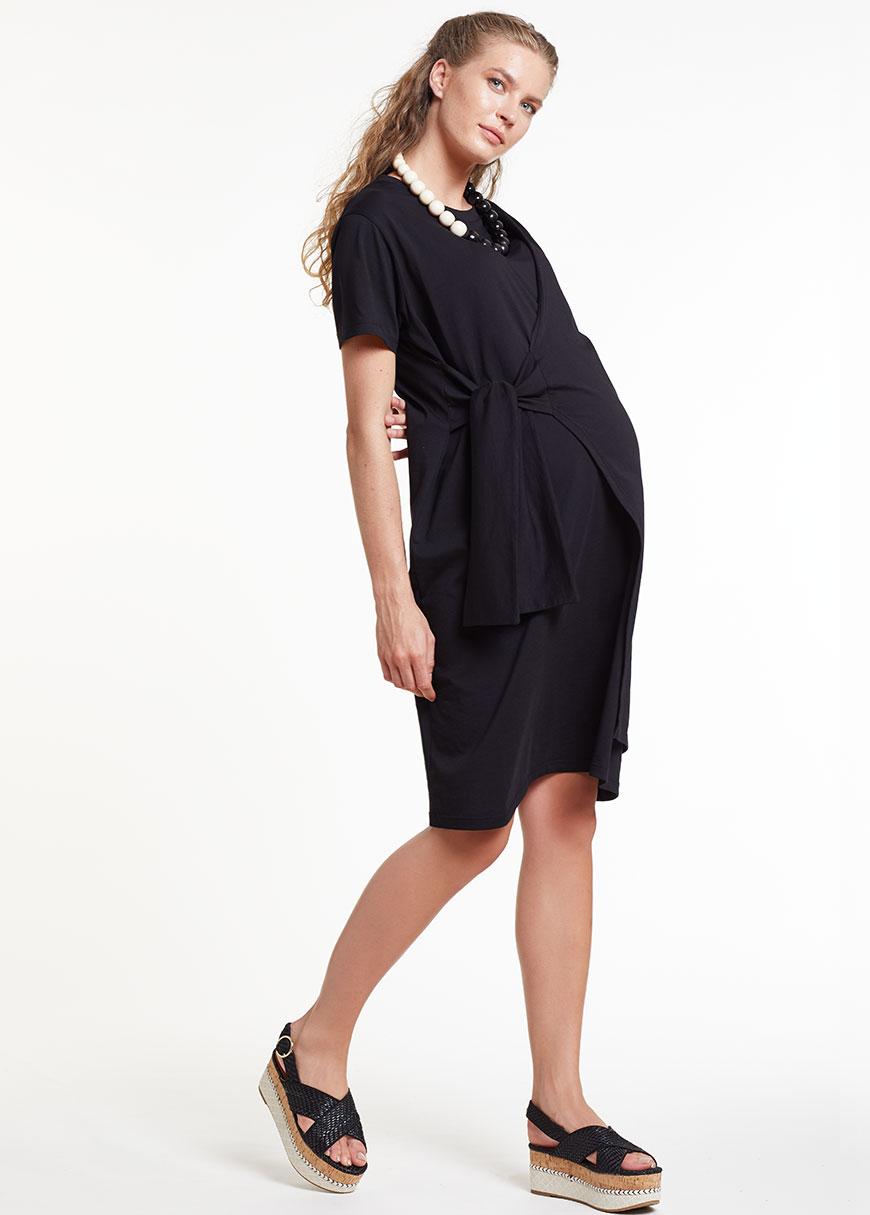 Siyah Hamile Elbisesi Dress Spain