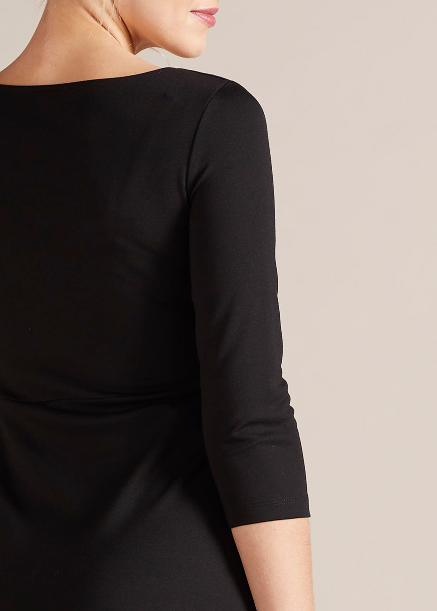 V Yaka Tüp Hamile Elbisesi Kaliyana