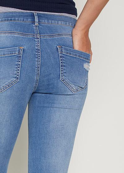 Yıpratmalı Skinny Hamile Jean Pantolon Turn - Thumbnail