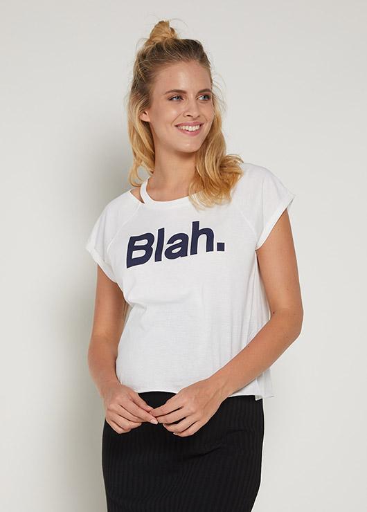 - Sloganlı Crop Hamile Tişörtü Yuki