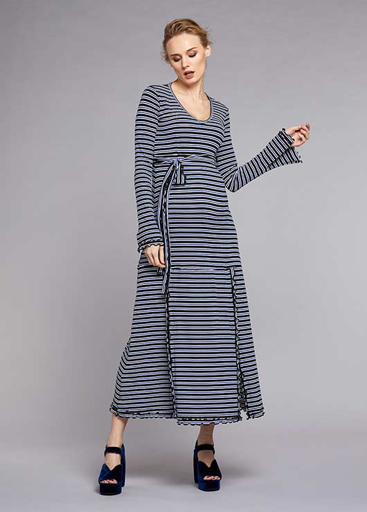 - Striped Dress Serlina