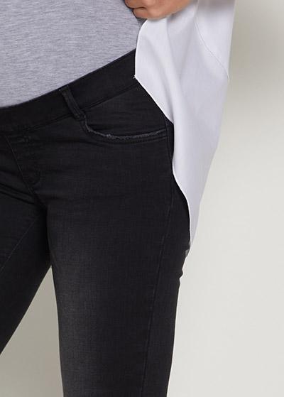 Taş Yıkamalı Skinny Hamile Jean Pantolon Dragon - Thumbnail