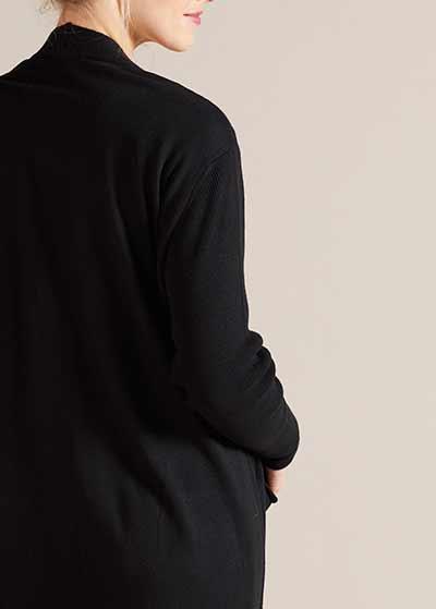 Uzun Hamile Hırkası Brenna - Thumbnail