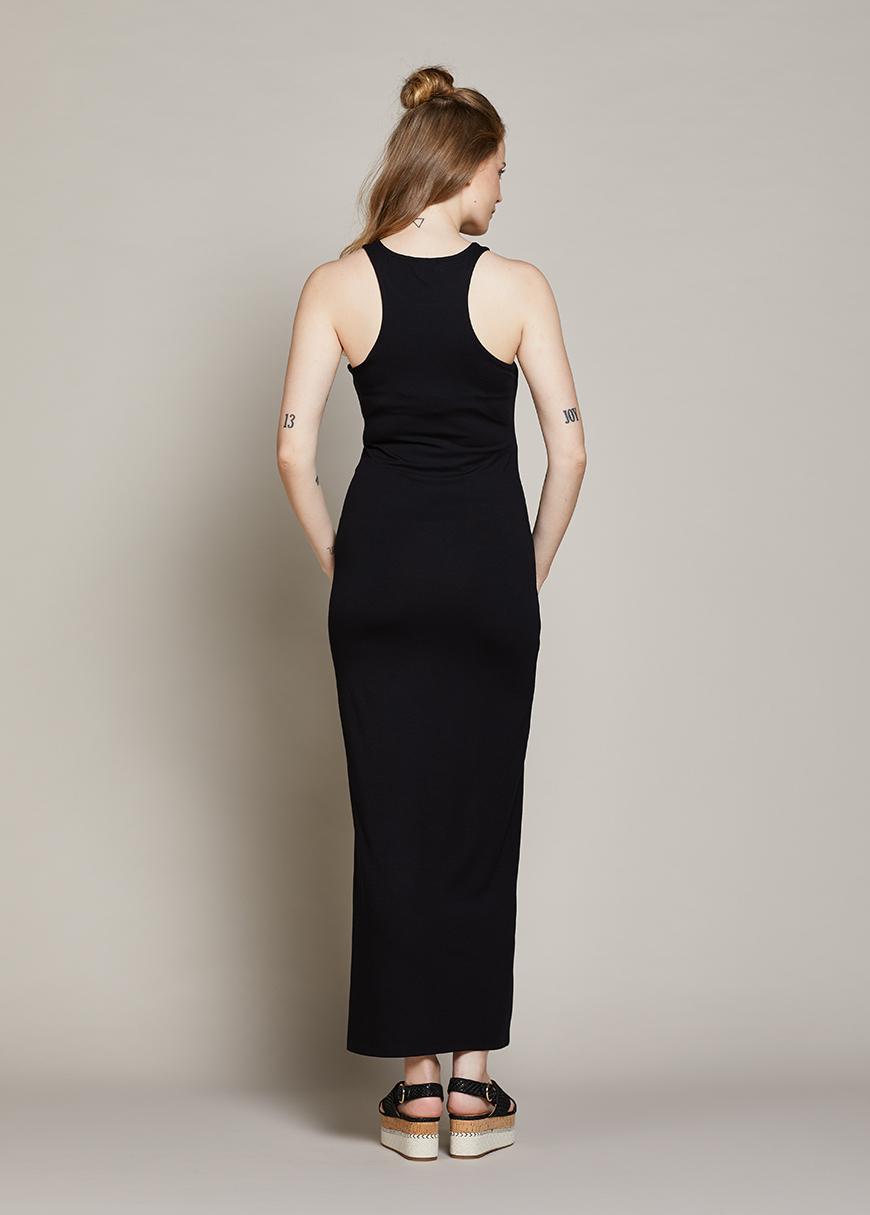 Yandan Yırtmaçlı Uzun Hamile elbisesi Lucina